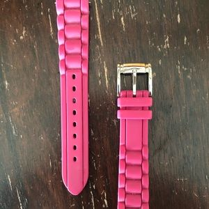 Women's Fossil Replacement Silicon Pink Band